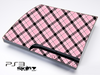 Pink Plaid Skin for the Playstation 3
