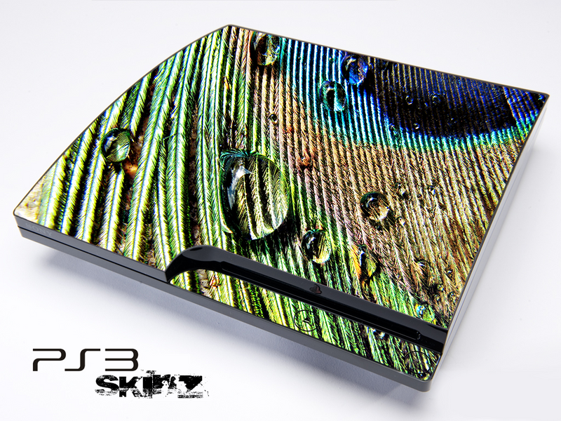 Watered Peacock 2 Skin for the Playstation 3