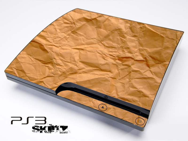 Paper Bag Skin for the Playstation 3