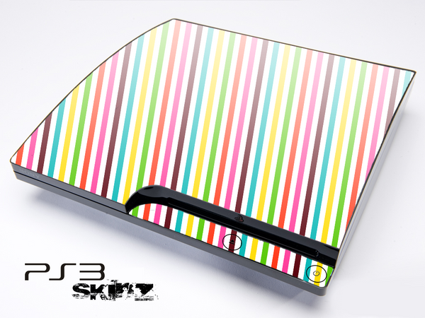 Bright Striped Skin for the Playstation 3