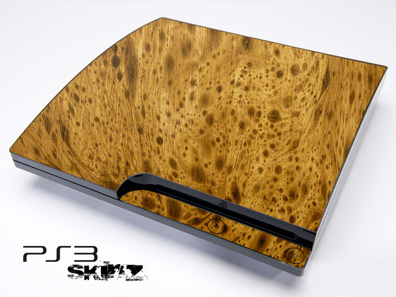 Burl Wood Skin for the Playstation 3