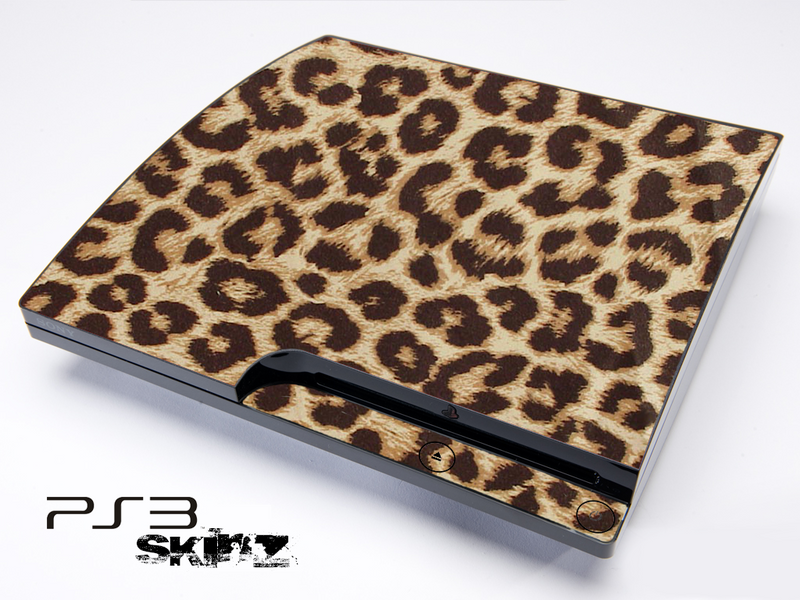 Fuzzy Leopard Skin for the Playstation 3