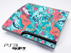 Abstract Neon Map Skin for the Playstation 3