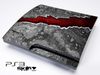 Cracked Red Core Skin for the Playstation 3
