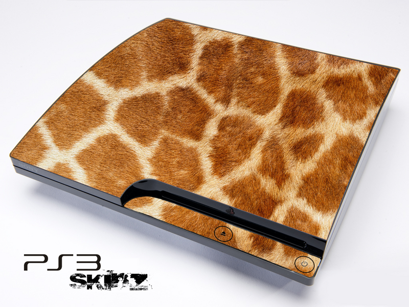 Real Giraffe Skin for the Playstation 3