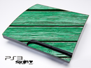Green Planks Wood Skin for the Playstation 3