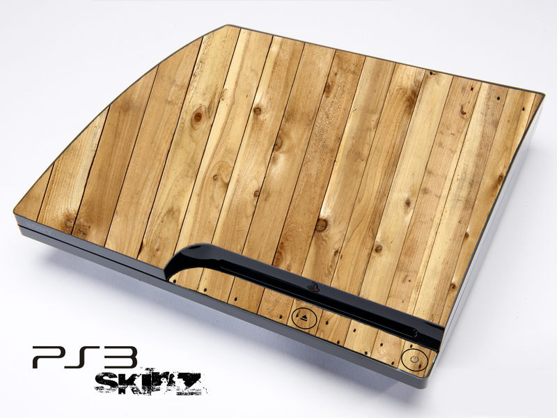 Wood Planks Skin for the Playstation 3