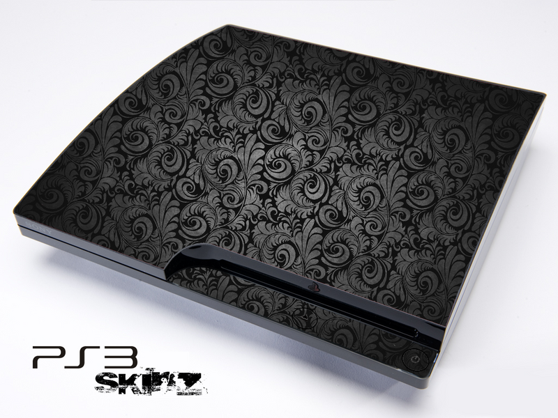 Black Lace Skin for the Playstation 3