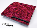 Pink Fumed Skin for the Playstation 3