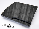 Dark Washed Wood Skin for the Playstation 3