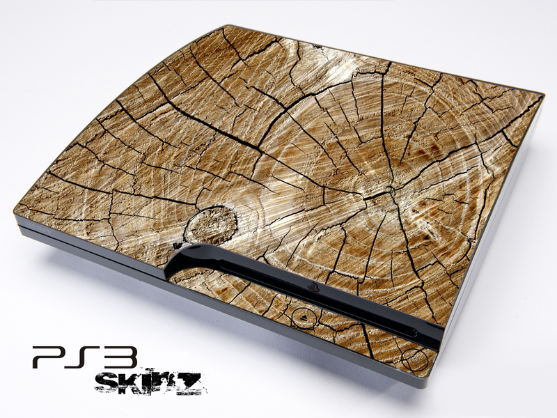 Cracked Wood Skin for the Playstation 3