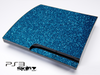 Blue Glitter Ultra Metallic Skin for the Playstation 3