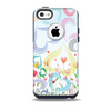 Pastel Color Vector Heart Pattern Skin for the iPhone 5c OtterBox Commuter Case