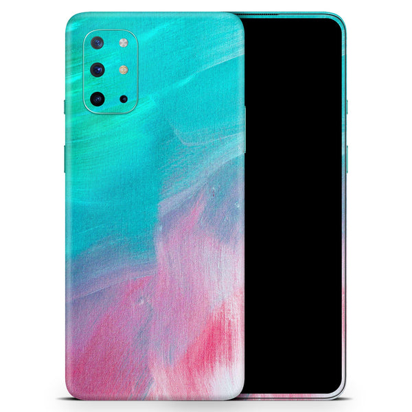 Pastel Marble Surface - Full Body Skin Decal Wrap Kit for OnePlus Phones