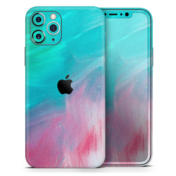 Pastel Marble Surface - Skin-Kit for the Apple iPhone 11, 11 Pro or 11 Pro Max