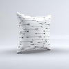 The Hipster Arrow Pattern ink-Fuzed Decorative Throw Pillow