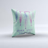 The Never Stop Dreaming Dreamcatcher ink-Fuzed Decorative Throw Pillow
