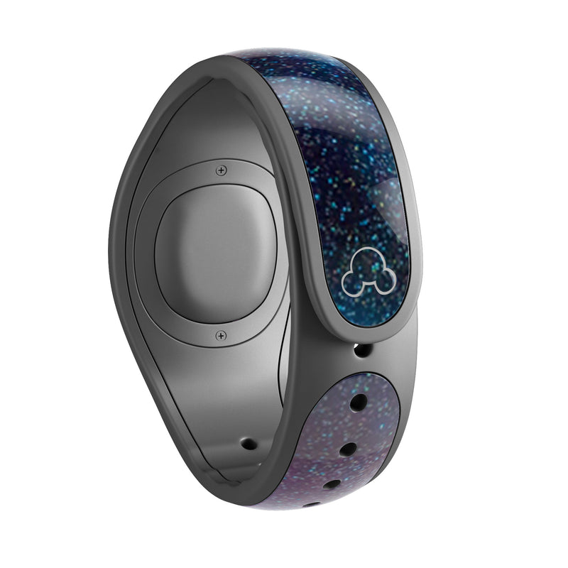 Pink & Blue Galaxy - Decal Skin Wrap Kit for the Disney Magic Band