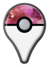 Pink 72 Absorbed Watercolor Texture Pokémon GO Plus Vinyl Protective Decal Skin Kit