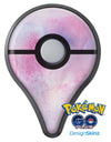 Pink 917 Absorbed Watercolor Texture Pokémon GO Plus Vinyl Protective Decal Skin Kit