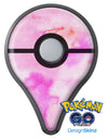 Pink 97 Absorbed Watercolor Texture Pokémon GO Plus Vinyl Protective Decal Skin Kit