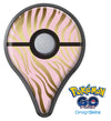 Pink Gold Flaked Animal v5 Pokémon GO Plus Vinyl Protective Decal Skin Kit