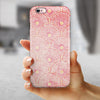 Pink SemiCircles with Yellow Polka Dots iPhone 6/6s or 6/6s Plus 2-Piece Hybrid INK-Fuzed Case
