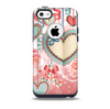 Pink Stringy Hearts Skin for the iPhone 5c OtterBox Commuter Case