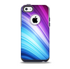 Pink and Blue Glowing Neon Wave Skin for the iPhone 5c OtterBox Commuter Case