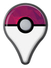 Pink and Bright Red Abstract Triangles Pokémon GO Plus Vinyl Protective Decal Skin Kit