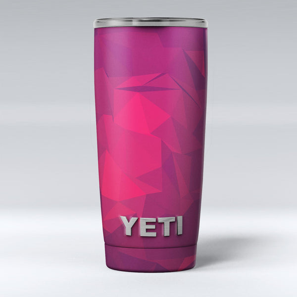 Pink_and_Bright_Red_Abstract_Triangles_-_Yeti_Rambler_Skin_Kit_-_20oz_-_V1.jpg