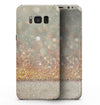 Pink and Gold Shimmering Lights  - Samsung Galaxy S8 Full-Body Skin Kit