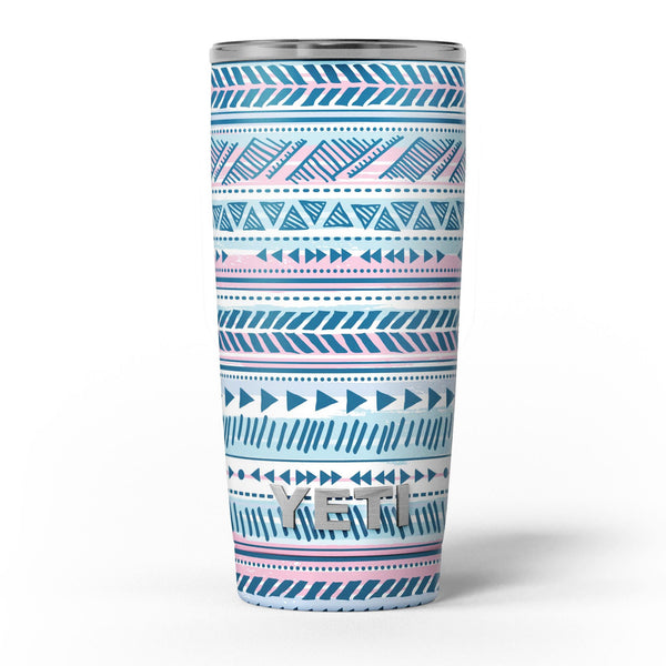 Pink_to_Blue_Tribal_Sketch_Pattern_-_Yeti_Rambler_Skin_Kit_-_20oz_-_V5.jpg