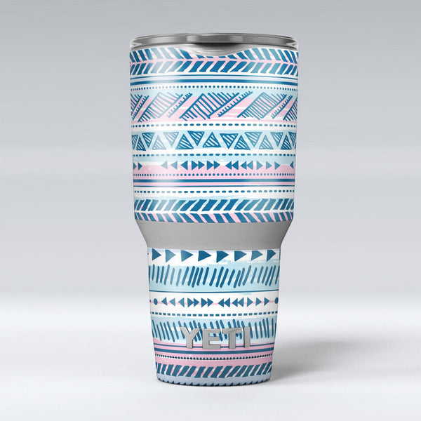 Pink_to_Blue_Tribal_Sketch_Pattern_-_Yeti_Rambler_Skin_Kit_-_30oz_-_V1.jpg