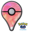 Pinkish 1102 Absorbed Watercolor Texture Pokémon GO Plus Vinyl Protective Decal Skin Kit