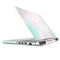 Pretty Pastel Clouds V7 - Full Body Skin Decal Wrap Kit for the Dell Inspiron 15 7000 Gaming Laptop (2017 Model)