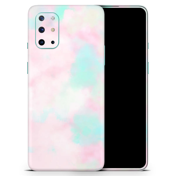 Pretty Pastel Clouds V7 - Full Body Skin Decal Wrap Kit for OnePlus Phones