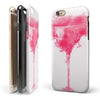Pretty in Pink Martini iPhone 6/6s or 6/6s Plus 2-Piece Hybrid INK-Fuzed Case
