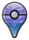 Purple 48 Absorbed Watercolor Texture Pokémon GO Plus Vinyl Protective Decal Skin Kit