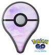 Purple Absorbed Watercolor Texture Pokémon GO Plus Vinyl Protective Decal Skin Kit