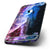 The Purple Blue and Pink Cloud Galaxy Six-Piece Skin Kit for the iPhone 6/6s or 6/6s Plus