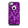 Purple Circles Pattern Skin for the iPhone 5c OtterBox Commuter Case