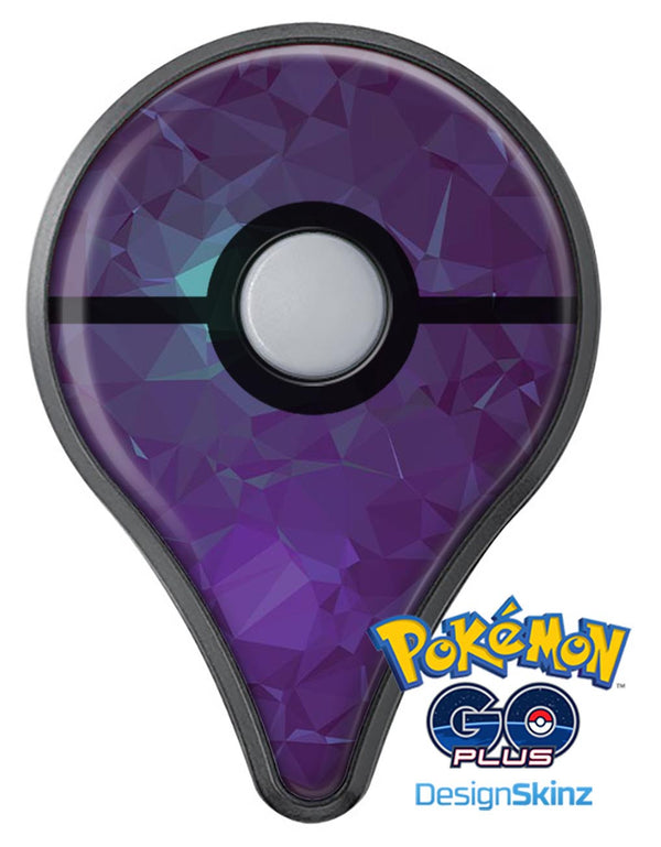 Purple Geometric V11 Pokémon GO Plus Vinyl Protective Decal Skin Kit