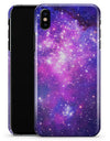 Purple & Pink Space - iPhone X Clipit Case