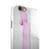 Purple Pink Watercolor Ribbon iPhone 6/6s or 6/6s Plus 2-Piece Hybrid INK-Fuzed Case