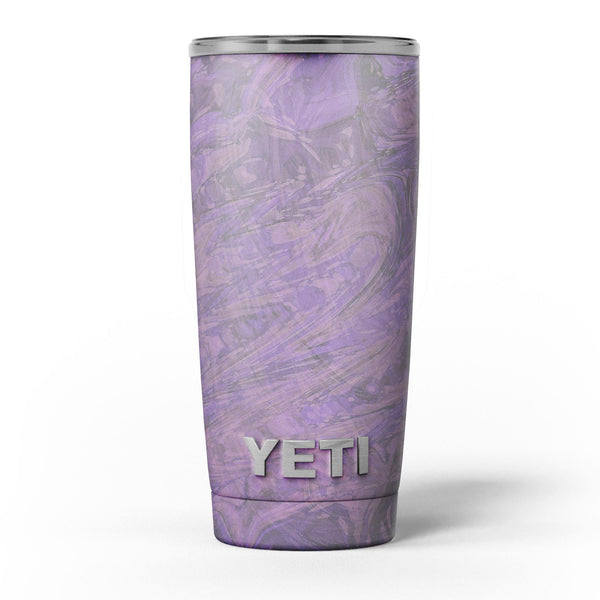 Purple Slate Marble Surface V30 Yeti Rambler Skin Kit
