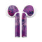Purple Tropical - Full Body Skin Decal Wrap Kit for the Wireless Bluetooth Apple Airpods Pro, AirPods Gen 1 or Gen 2 with Wireless Charging