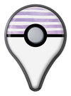 Purple WaterColor Ombre Stripes Pokémon GO Plus Vinyl Protective Decal Skin Kit