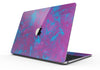 "Purple and Blue Paintburst Painting Skin Kit for the 12"" Apple MacBook"