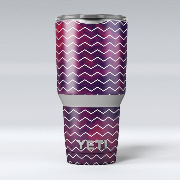 Purple_and_Red_Grunge_Clouds_with_White_Chevron_-_Yeti_Rambler_Skin_Kit_-_30oz_-_V1.jpg
